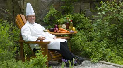Chef Rory Golden from Deerhurst Resort in Muskoka