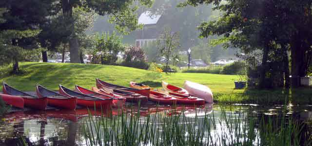 Pine Vista Resort in The Kawarthas is one of the finest housekeeping resorts in the province.