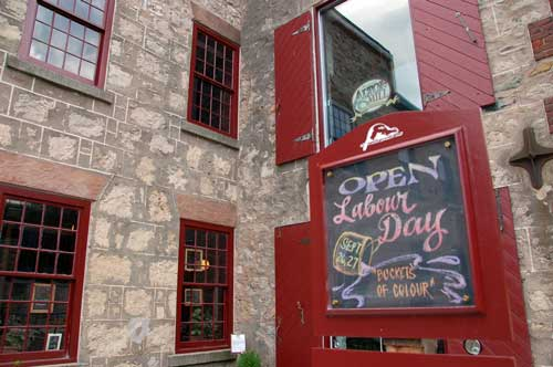 The Headwaters Arts Festival includes the Alton Mill.