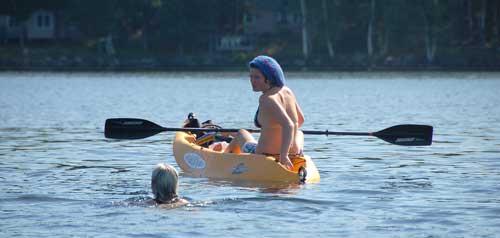 """""""I Swam Haystack Bay"""""""