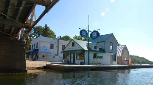 The Lake of Bays Marine Museum at Dorset