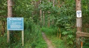 Millcroft trail to Alton Mill