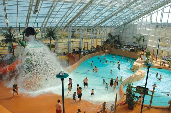 Wave pool at the Americana Resort in Niagara Falls