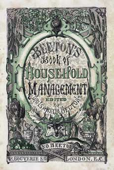 book cover Beeton's Book of Household Management