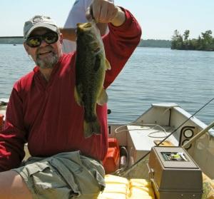 Fishing on Sparrow Lake