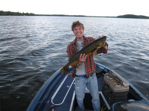 Walleye Caught on Buckhorn Lake