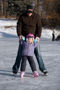 Ice Skating at Pine Vista Resort