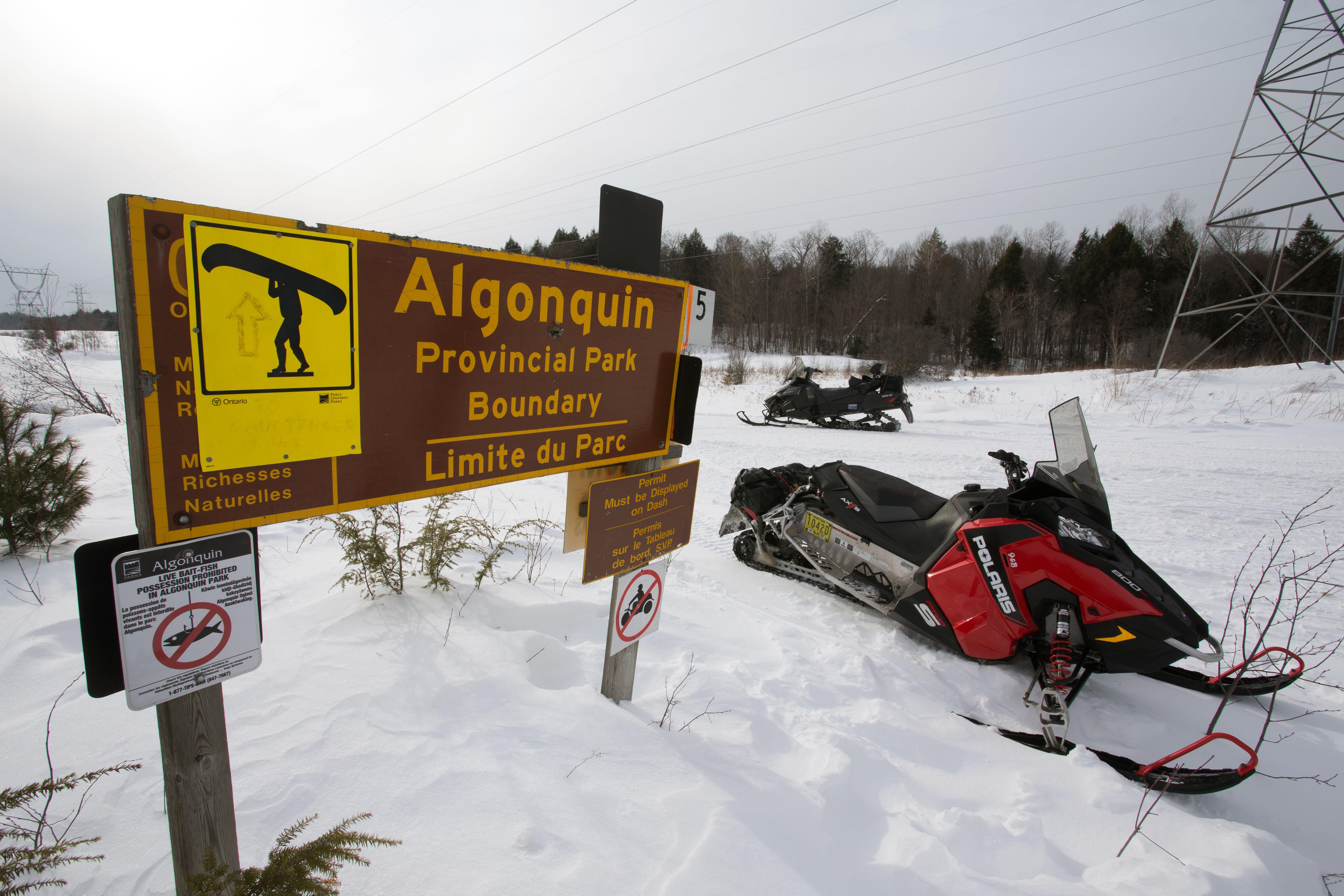 RAP Snowmobile Tour Algonquin Park - Martin Lortz