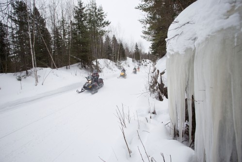 Snowmobiles on the RAP Tour Ontario - Martin Lortz.jpg